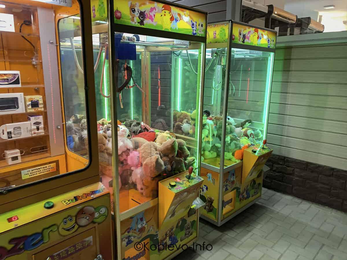 адреса игровых автоматов с игрушками