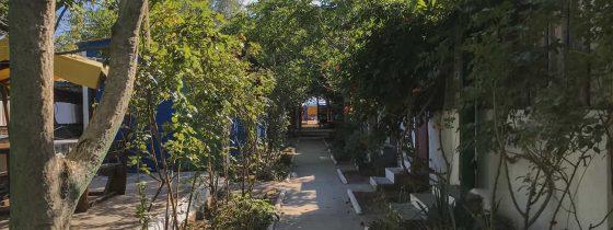 Фото территории базы отдыха Элита в Коблево