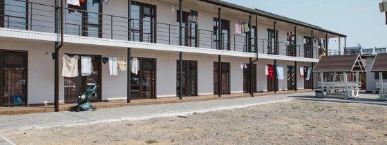 Новые отели на второй линии в Коблево